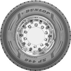 265/70R17.5 SP446 139/136M