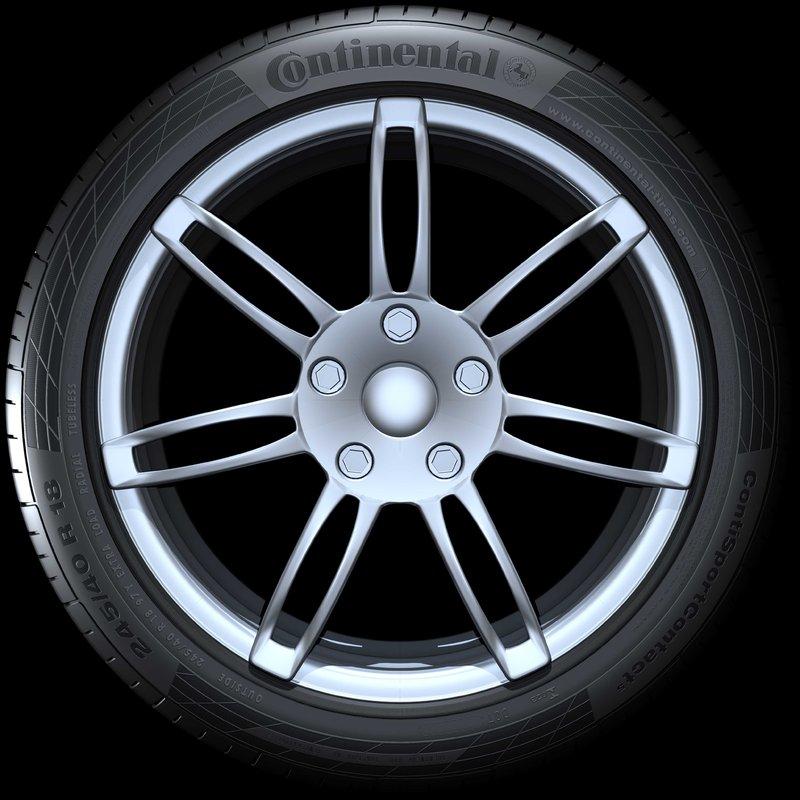 255/40R19 Conti SC5 96W SSR FR