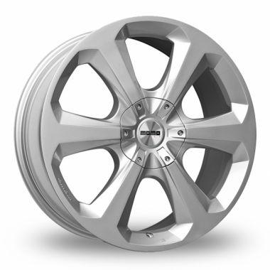 Hexaje alu felna posebno razvijena za crossovere i kreirana sa ciljem da autentičan sportski duh pruži vozilima koja kombinuju visoku mobilnost na neravnom putu sa elegantnim dizajnom. Šest snažnih kraka osiguravaju čvrstinu i snagu i zajedno sa novim centralnim čepovima simbolizuje izuzetno čist i tipični MOMO geometrijski dizajn.