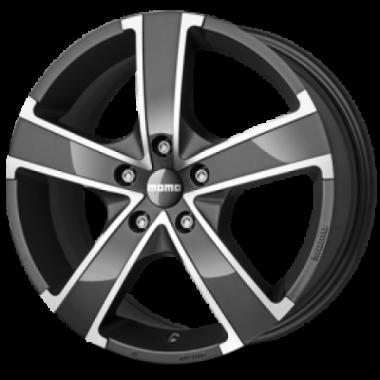 Win Pro Evopredstavlja evolucijuautentičnog Momo stila.Zahvaljujući sjajnom antracit Diamond Cut završnom sloju, dodaje notu glamura izuzetno čistom dizajnu Win Pro-a. Naročito je pogodan za automobile sa sportskim karakterom.