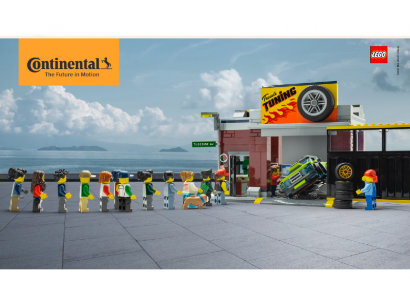 Continental & Lego